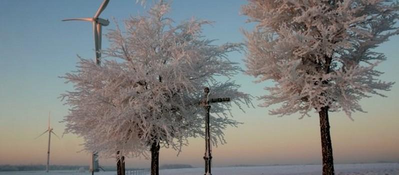 Neige à Perwez