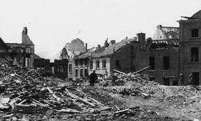 Perwez - Ruines en mai 1940