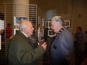 Achille Delforge, de Cecipho, et Raymond Gilsoul, Président du Cercle historique (Crédit photo: G.Maniquet)