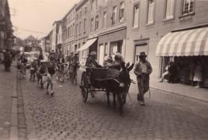 Rue de la station, dans les années 50