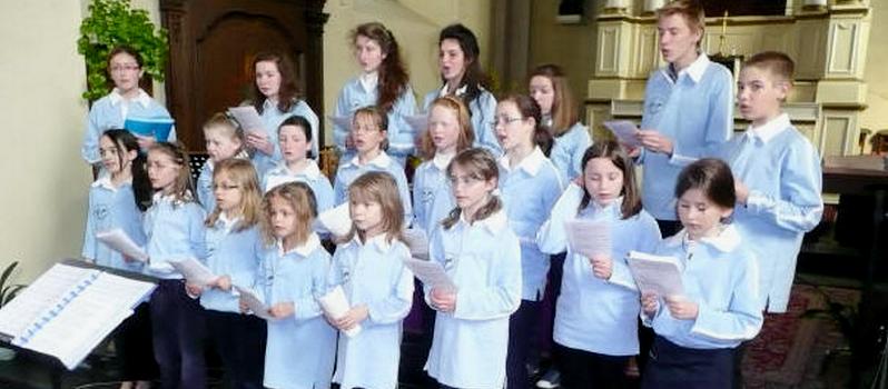 Ode-Gamme, la chorale des jeunes de Thorembais-St-Trond